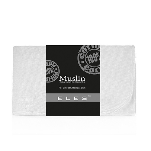 Muslin Cleansing Cloths Set of 3